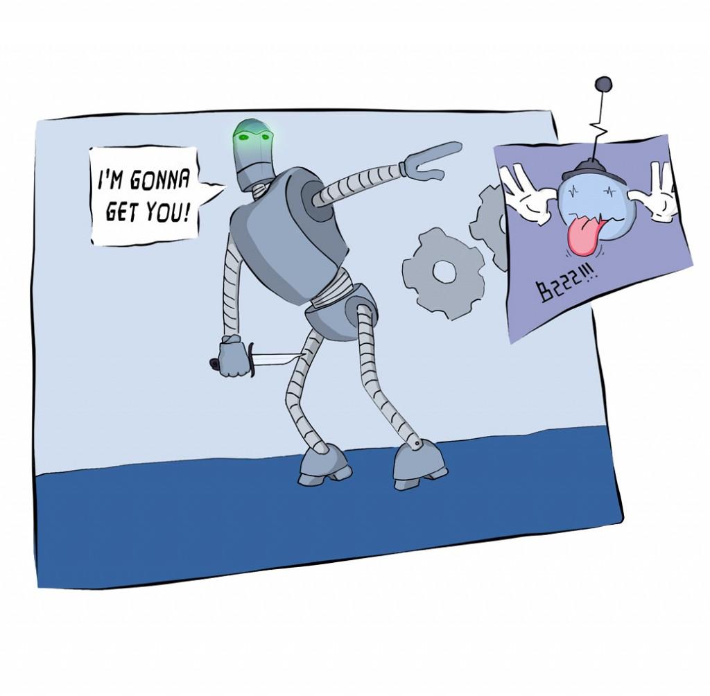 Silly Robots (t-shirt)