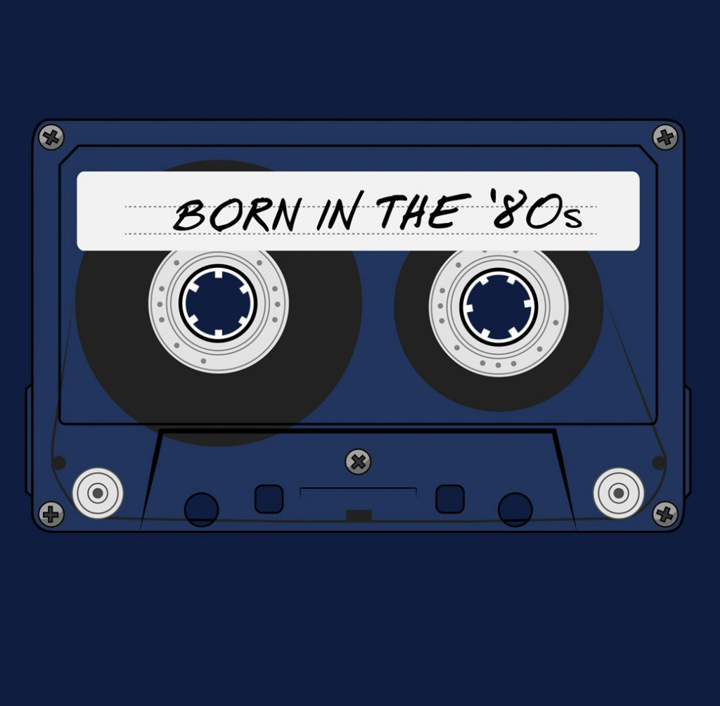 Born in the '80s (t-shirt)