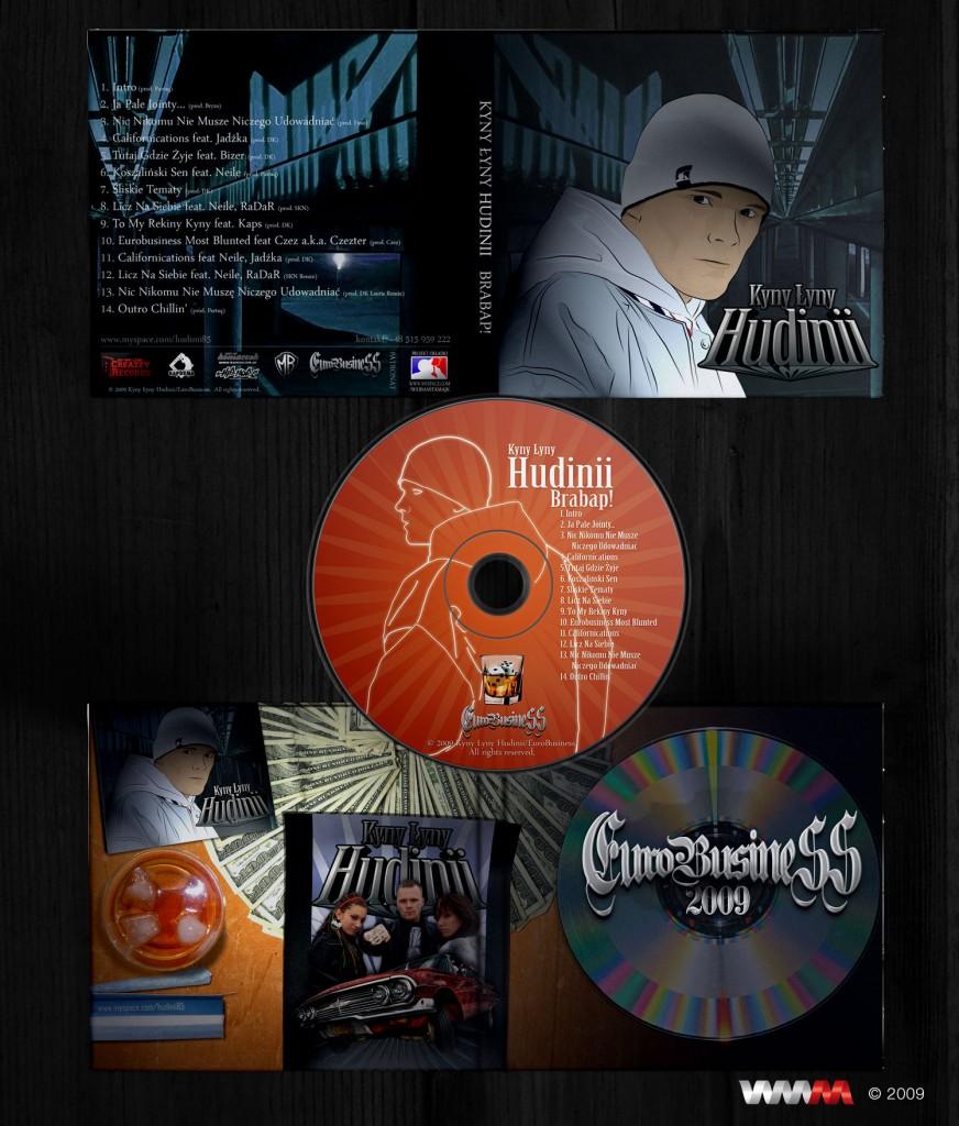 Hudinii - Brabap!  (cd cover)